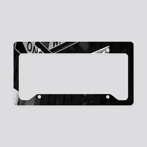 broadway4 License Plate Holder