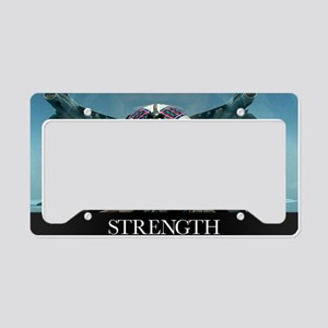 Military Poster: A pilot take License Plate Holder