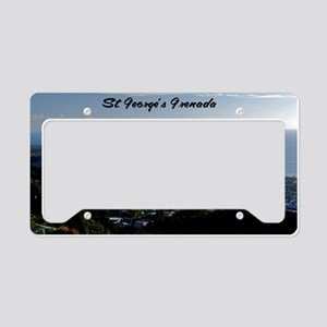 St Georges Grenada42x28 License Plate Holder