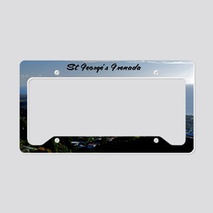 St Georges Grenada12x18 License Plate Holder