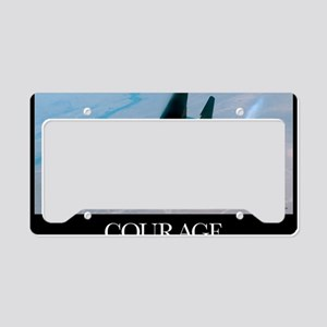 Military Poster: An F-15E Str License Plate Holder