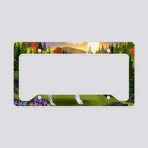 fall wgs License Plate Holder