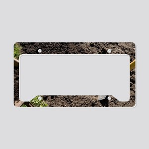 Improving soil structure License Plate Holder