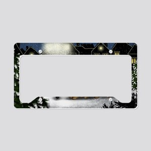 snowtown cc License Plate Holder