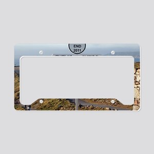 Lands End, Cornwall, England, License Plate Holder