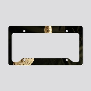 Cards Face Up License Plate Holder