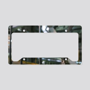 Thermal power station License Plate Holder