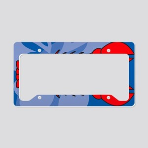 Lobster Yard Sign License Plate Holder