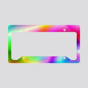 Colorful Style License Plate Holder