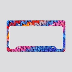 Knitwear 006 License Plate Holder