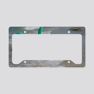 Gulf and Bay Retreat License Plate Holder