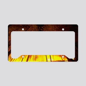 Forest Fire License Plate Holder