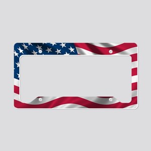 usflag License Plate Holder