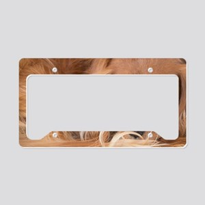 Sweet Friend Ruby Cavalier Ki License Plate Holder