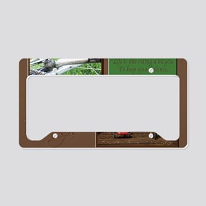 11x17_lifeCycle License Plate Holder