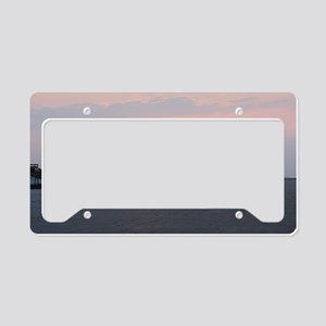 Sun rise Isle Of  Palms South License Plate Holder
