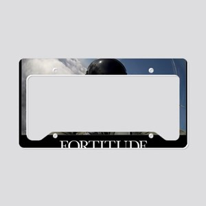 Military Poster: Self-portrai License Plate Holder
