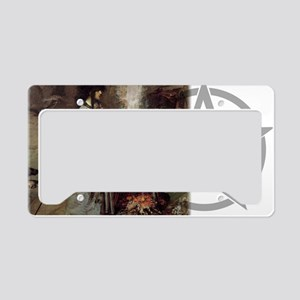Magic Circle banner License Plate Holder