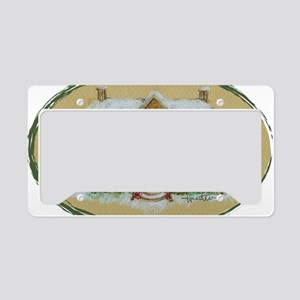 Rosemary Clooney House Color  License Plate Holder