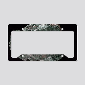 Fuchsite mineral sample License Plate Holder