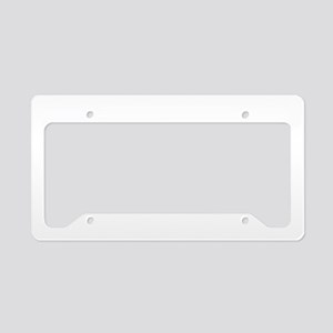 Dahlia Beauty License Plate Holder