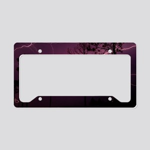 Lightning License Plate Holder