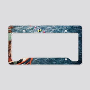 Bowsprit of the Santa Maria License Plate Holder