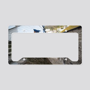 Polperro Village License Plate Holder