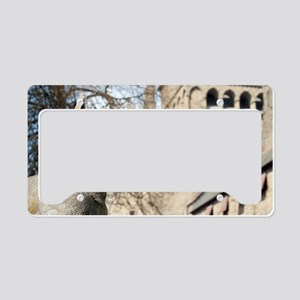 Cardiff Castle Animal Wall License Plate Holder