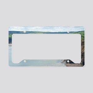 Landscape vie of Robin Hoods  License Plate Holder