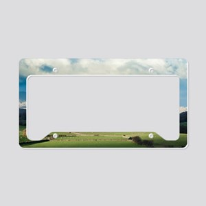 Blawith Knott in Cumbria License Plate Holder
