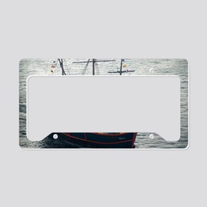 Santa Maria Cruise License Plate Holder