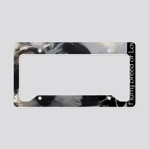 cockapoo License Plate Holder
