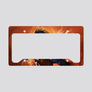 Beautiful horse License Plate Holder