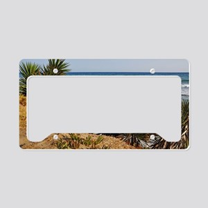 Marbella beach License Plate Holder