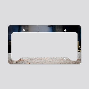 Hot Rod truck License Plate Holder