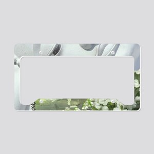 In the Garden - Quan Yin Flow License Plate Holder