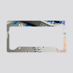 Bank cards License Plate Holder