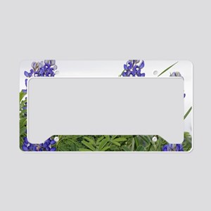 Texas bluebonnet serving tray License Plate Holder