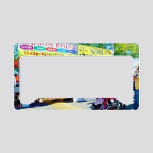 Ribbon Chips  License Plate Holder