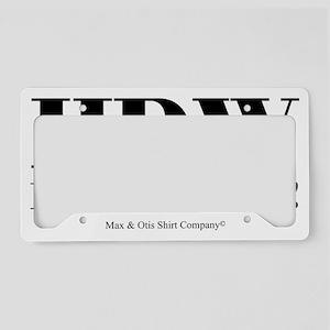 Hawaiian Pidgin License Plate Frames - CafePress