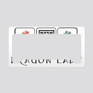 dragon lady coin purse final License Plate Holder