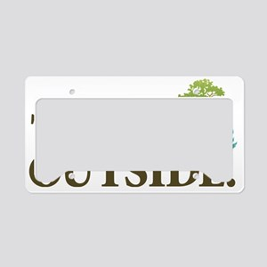 Think Outside License Plate Holder