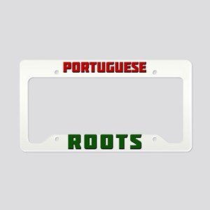 American Portuguese Roots License Plate Holder