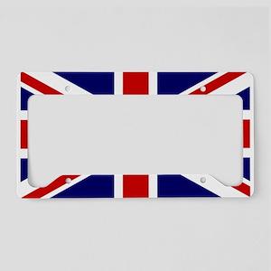 959e8847 Union Jack Flag of the United License Plate Holder