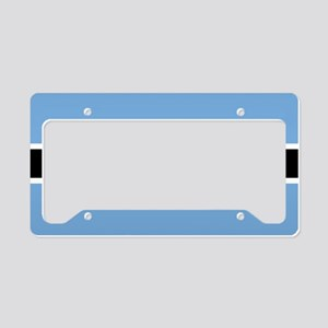 Flag: Botswana License Plate Holder