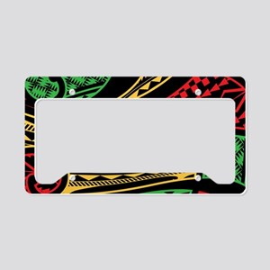 Roots Flow License Plate Holder