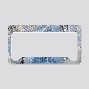 Another Winter Wonderland License Plate Holder