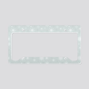 Winter Wonder License Plate Holder