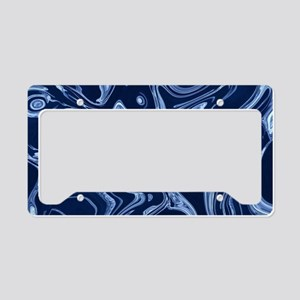 nautical beach ocean waves License Plate Holder